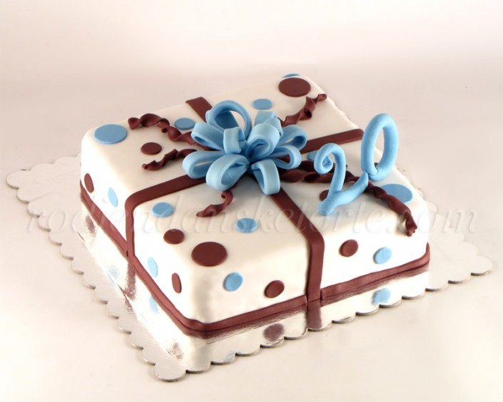Torta poklon sa tufnama