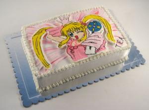 torta princeza sirena lucija