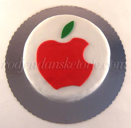 torta sa apple znakom