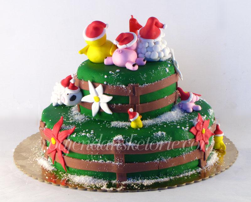 torta sa domacim zivotinjama