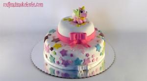 torta sa figuricom konjica