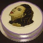 torta sa likom slavljenice