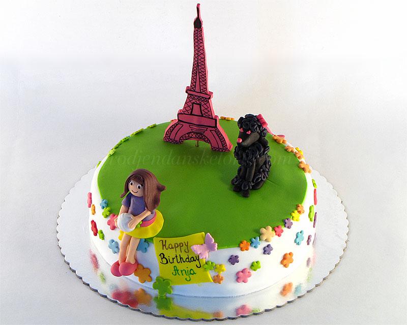 torta-sa-pudlicom-ajfelovom-kulom-devojcicom