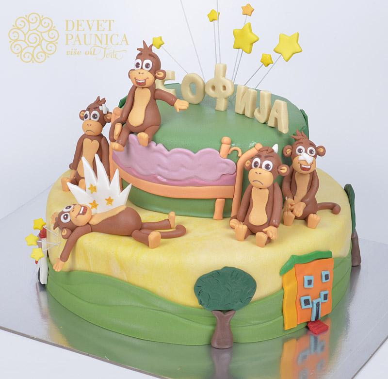torta-sa-sasavim-majmuncicima