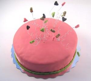 torta sa srcima od fondana