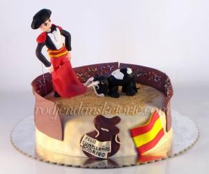 torta sa toreadorom i bikom