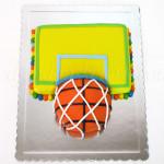 Torta u obliku šarenog koša za decu
