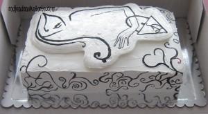 torta silueta devojke