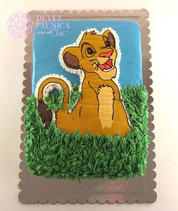 torta-simba-kralj-lavova
