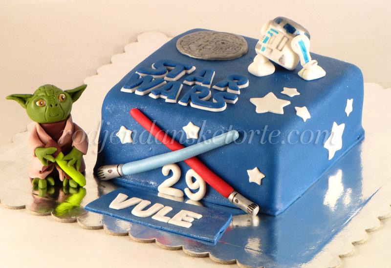 star wars torta joda i artuditu