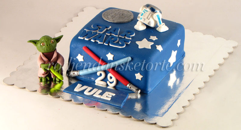 torta star wars joda i r2d2