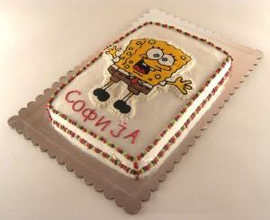 torta sundjer bob