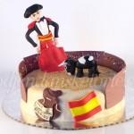 torta toreador i bik