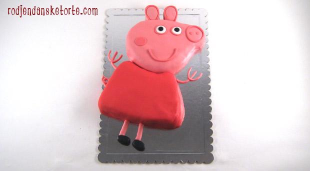 torta u obliku pepa praseta