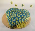 torta u obliku srca sa 100 srca