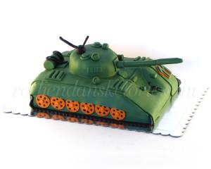 Jedan opasni slatki tenk - spreman za rođendansku proslavu!