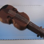 torta u obliku violine
