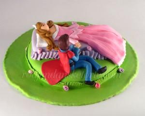 torta-uspavana-lepotica-i-princ
