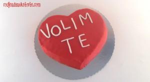 torta volim te