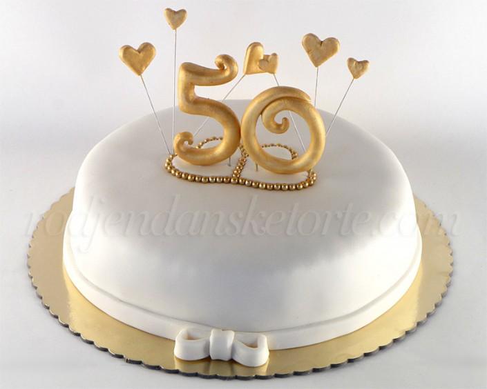 Torta za 50 godišnjicu braka