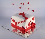 torta za baku sa srcima