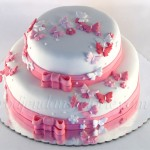 torta-za-krstenje-sa-leptiricima