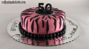 torta za pedeseti rodjendan