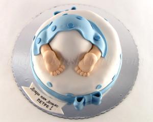 Torta za prvu posetu bebi