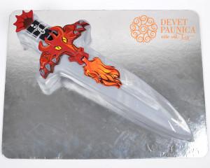 Mač sa drškom u obliku zmaja