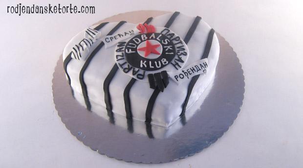 torta za fudbalere partizana