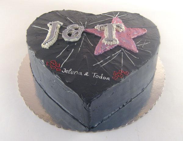 zaljubljeni i torta